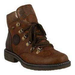 Women's Spring Step Sine Ankle Boot Brown Synthetic