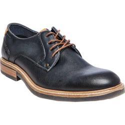 Men's Steve Madden Bentley Plain Toe Oxford Navy Leather