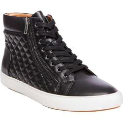 Men's Steve Madden Quodis Quilted High Top Black Synthetic