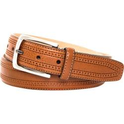 Men's Trafalgar Hatcher Belt Tan