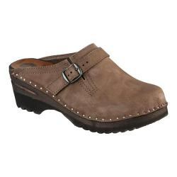 Women's Troentorp Bastad Clogs Donatello Smoke Nubuck