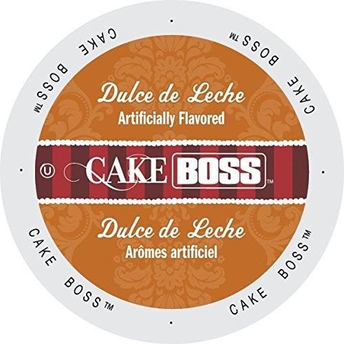 Cake Boss Coffee Dulce de Leche Single-serve Cup Portion Pack for Keurig K-Cup Brewers