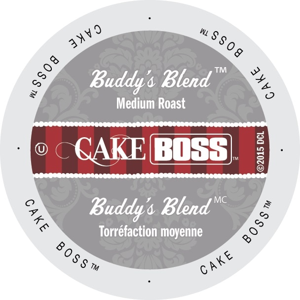 Cake Boss 'Buddy's Blend' Coffee Single-serve K-Cup Portion Pack