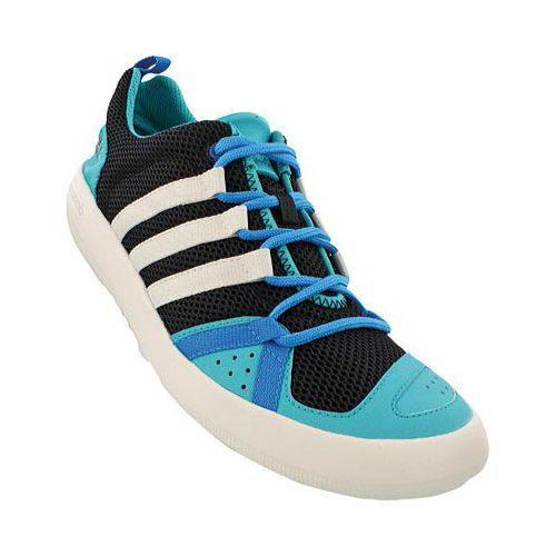 meilleur site web 77058 5b9b6 Men's adidas ClimaCool Boat Lace Black/Chalk White/Shock Green