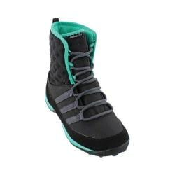 Girls' adidas CW Libria Pearl CP K Black/Black/Shock Mint