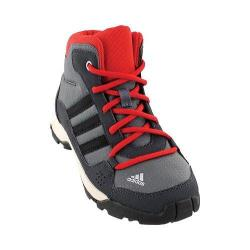 Children's adidas Hyperhiker Trail Shoe Onix/Black/Vivid Red