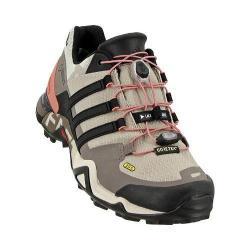 Women's adidas Terrex Fast R GORE-TEX Hiking Shoe Vapour Grey/Black/Tech Earth