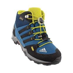 Children's adidas Terrex Mid GORE-TEX K Hiking Shoe Tech Steel/Black/Unity Lime