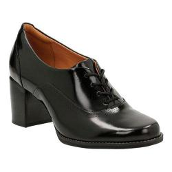 Women's Clarks Tarah Victoria Formal Shoe Black Leather