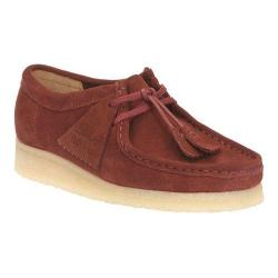 Women's Clarks Wallabee Nut Brown Suede