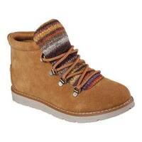 Women's Skechers BOBS Alpine Smores Ankle Boot Chestnut