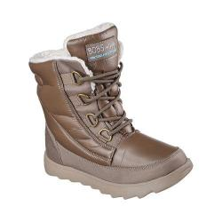 Women's Skechers BOBS Mementos Snow Cap Cold Weather Boot Taupe