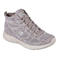 Women's Skechers Burst Divergent High Top Taupe