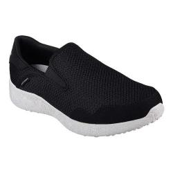 Men's Skechers Burst Just In Time Slip On Black/White