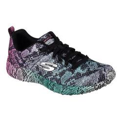 Women's Skechers Burst Vivid Viper Sneaker Black/Multi