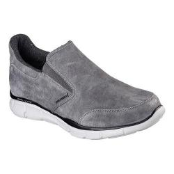 Men's Skechers Equalizer Chakote Slip On Walking Shoe Charcoal