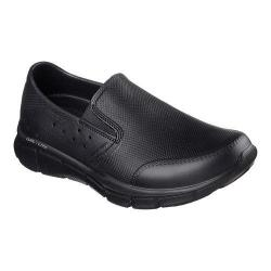 Men's Skechers Equalizer Womble Slip On Shoe Black