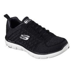 Men's Skechers Flex Advantage 2.0 Golden Point Training Shoe Black/White