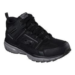 Men's Skechers Geo Trek High Top Trail Shoe Black/Gray