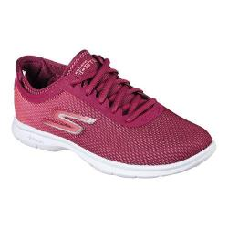 Women's Skechers GO STEP Cosmic Walking Shoe Burgundy