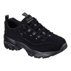 Women's Skechers D'Lites Play On Training Shoe Black