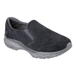 Men's Skechers GOwalk Outdoors Slip On Walking Shoe Charcoal