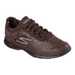 Women's Skechers GO STEP Wild Walking Shoe Chocolate