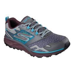 Men's Skechers GOtrail Running Shoe Charcoal/Multi