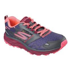 Women's Skechers GOtrail Running Shoe Charcoal/Multi