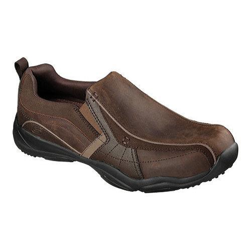Men's Skechers Larson Berto Loafer Dark Brown