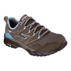 Women's Skechers GOwalk Outdoors Trail Shoe Taupe/Blue