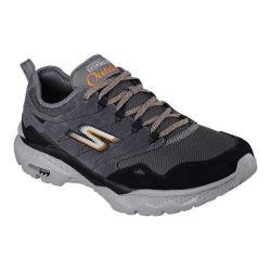 Men's Skechers GOwalk Outdoors Trail Shoe Charcoal/Orange