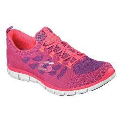 Women's Skechers Gratis Sleek and Chic Casual Sneaker Pink/Purple