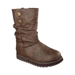 Women's Skechers Keepsakes Leatherette Mid Calf Boot Brown