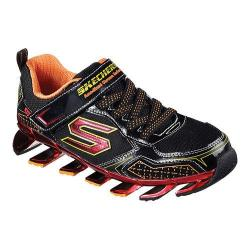 Boys' Skechers Mega Blade 2.0 Zinx Sneaker Black/Red