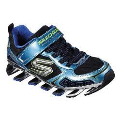 Boys' Skechers Mega Blade 2.0 Zinx Sneaker Blue/Black