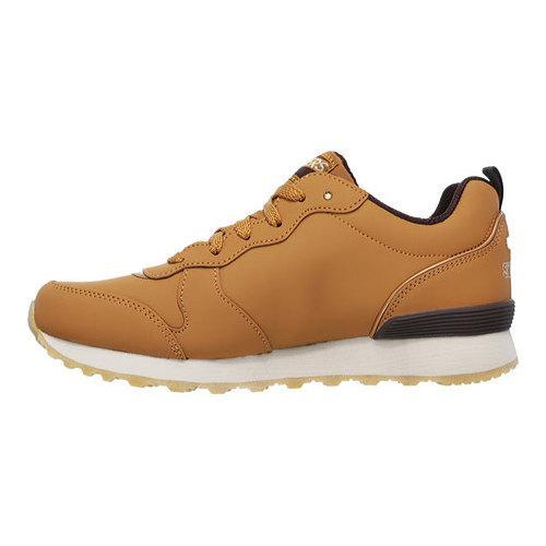 94663dfa1569 Womens Skechers OG 85 Street Sneak Low Sneaker Wheat 19474276 on ...