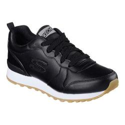 Women's Skechers OG 85 Street Sneak Low Sneaker Black (As Is Item)