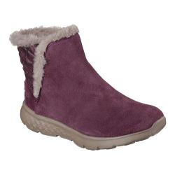Women's Skechers On the GO 400 Cozies Ankle Boot Burgundy