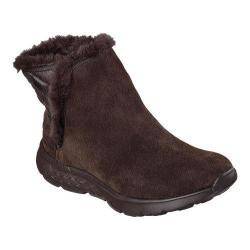 Women's Skechers On the GO 400 Cozies Ankle Boot Chocolate