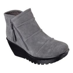 Women's Skechers Parallel Triple Threat Wedge Bootie Charcoal