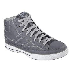 Men's Skechers Relaxed Fit Arcade II Aurail High Top Charcoal