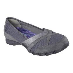 Women's Skechers Relaxed Fit Bikers Satine Loafer Charcoal