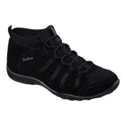 Women's Skechers Relaxed Fit Breathe Easy Established High Top Black