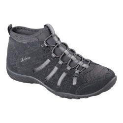 Women's Skechers Relaxed Fit Breathe Easy Established High Top Charcoal