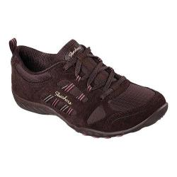 Women's Skechers Relaxed Fit Breathe Easy Good Luck Sneaker Chocolate