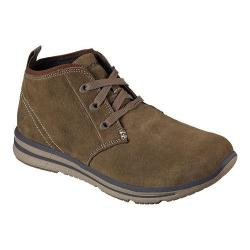 Men's Skechers Relaxed Fit Doren Marcin Chukka Boot Light Brown