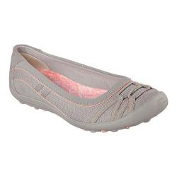 Women's Skechers Relaxed Fit Earth Fest Upcycle Skimmer Sneaker Dark Taupe