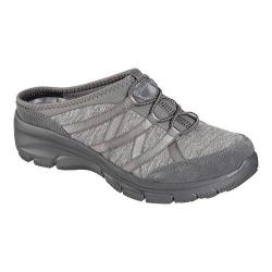 Women's Skechers Relaxed Fit Easy Going Rolling Sneaker Clog Charcoal