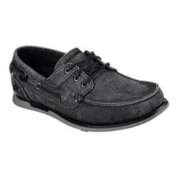 Men's Skechers Relaxed Fit Eris Inaldo Boat Shoe Black